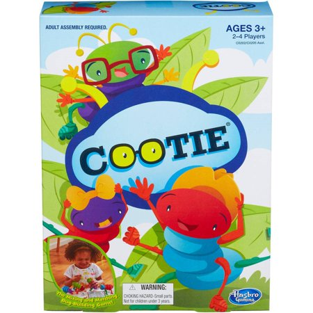 Classic Bug-Building Cootie Family Game, Ages 3 and up - School Spirit Games