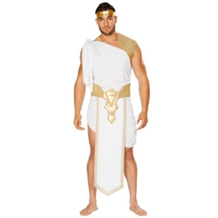 Greek God Costume Roma Costumes 4747 White/Gold for $<!---->