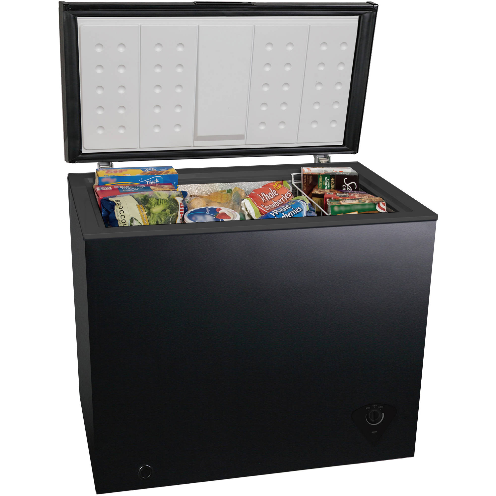 7 0 cu ft chest deep freezer upright compact dorm. Black Bedroom Furniture Sets. Home Design Ideas