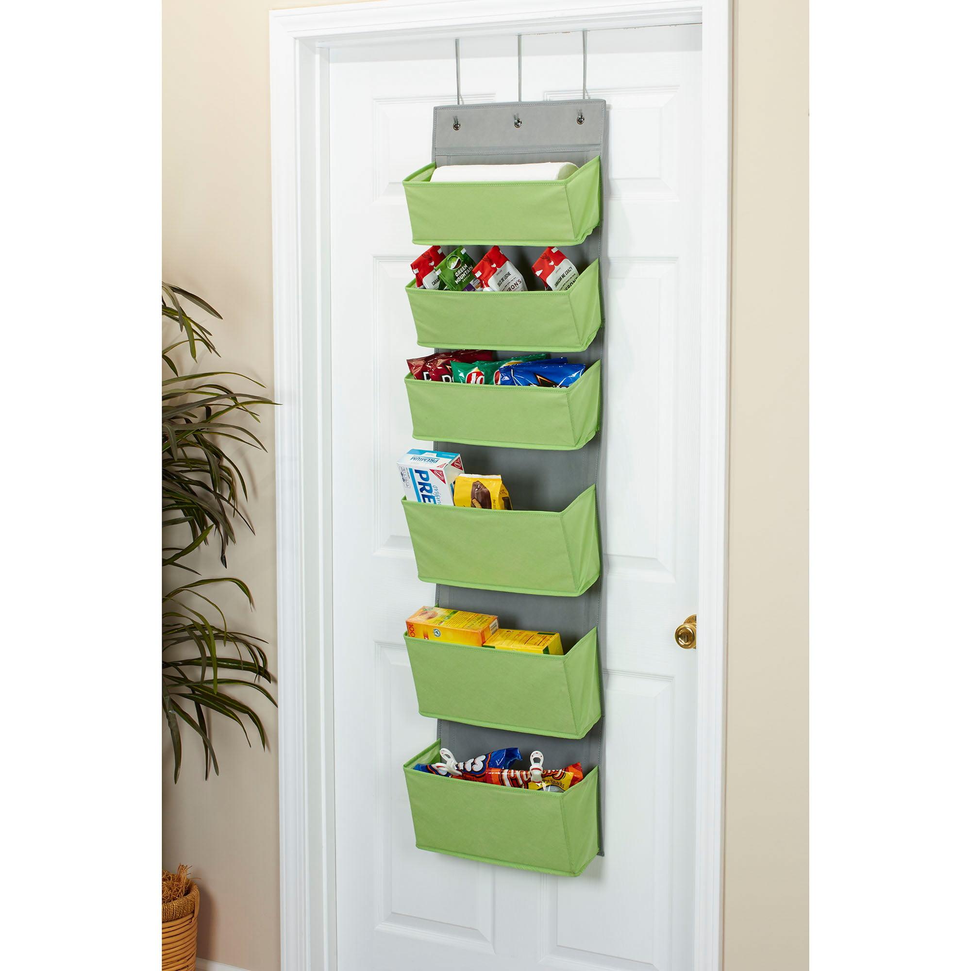 Household Essentials 6 Pocket Over The Door Organizer Walmart Com Walmart Com