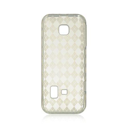 DreamWireless CSHUM570CLCK Huawei M570 & Verge Crystal Skin Case Clear Checker - Crystal Clear Skin Halloween