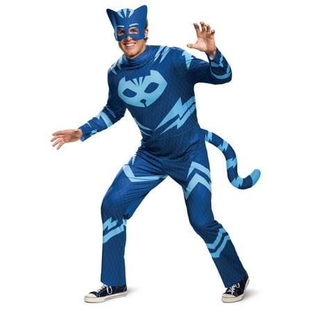 Men's Catboy Classic Costume - PJ (Men's Theodore Roosevelt Costumes)