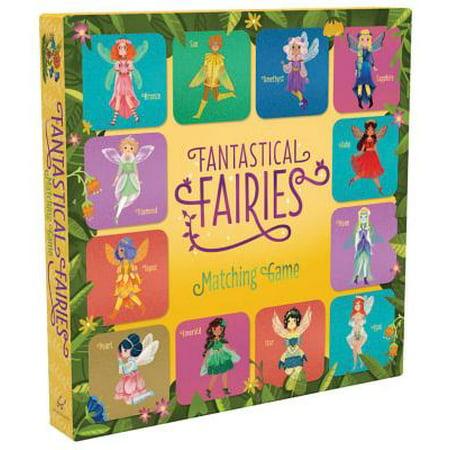 Fantastical Fairies Matching Game (Matching Board Game, Fairy Game, Princess Matching Game, Memory Games for Children, Board Games for Children)](Furry Child)