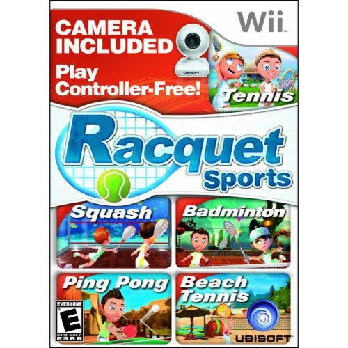 racquet sports with camera - nintendo wii