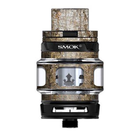 Skin Decal Vinyl Wrap for Smok TFV12 Prince Tank Vape Kit skins stickers cover / tree camo net camouflage military