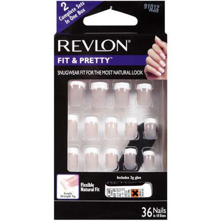 Pacific World Revlon Naturally Chic Nails 36 Ea