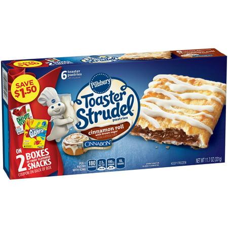 Pillsbury™ Toaster Strudel Cinnamon Roll Toaster Pastries ...