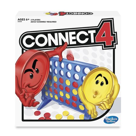 Hasbro Classic Connect 4 Game, Ages 6 Up