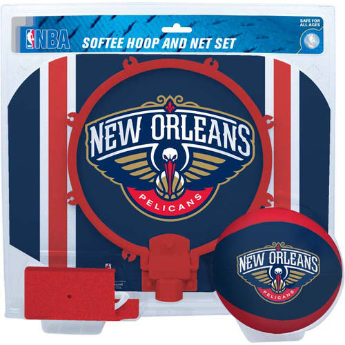 Rawlings NBA Slam Dunk Softee Hoop Set New Orleans Pelicans