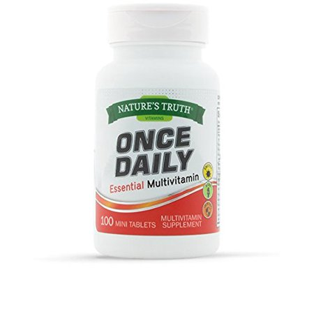 Natures Truth One Daily Multivitamin VALUE SIZE 100 Count (Best Value Multivitamin Uk)