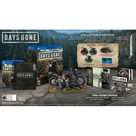 Days Gone Collector's Edition, Sony, PlayStation 4, (Halloween 3 Collector's Edition)