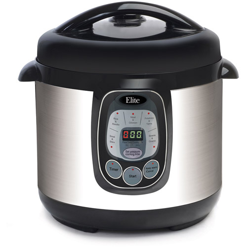 Elite EPC-807 Platium 8qt Digital Pressure Cooker