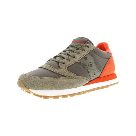39598aa366a2 Saucony - Saucony Men s Jazz Original Olive   Cherry Ankle-High Leather  Running Shoe - 12M - Walmart.com