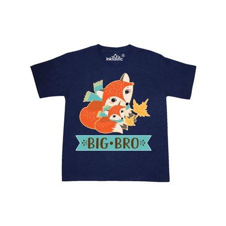 Brother Big Bro Woodland Fox Youth T-Shirt