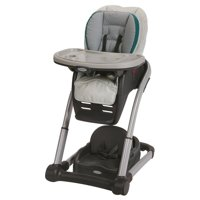 Graco Blossom 4-In-1 Convertible High Chair Seating System (Sapphire)