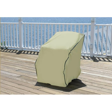 Admirable Durable Outdoor Patio Vinyl Chair Cover Khaki Walmart Canada Home Remodeling Inspirations Genioncuboardxyz