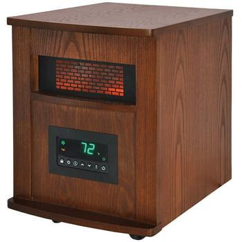Warm Living 6 Element Wood Cabinet Heater