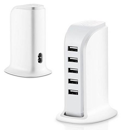 Usb Charging Station Hub  Epicdealz 30W 5 Port Usb Wall Charger Power Adapter Portable Travel Charger Plug For Sony Ericsson Xperia X10a