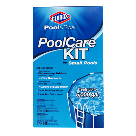 Clorox Pool Amp Spa Small Pool Care Kit Contains 1 1 5 Lbs