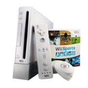 Wii Game Console with Wii Sports Bundle (refurbished)