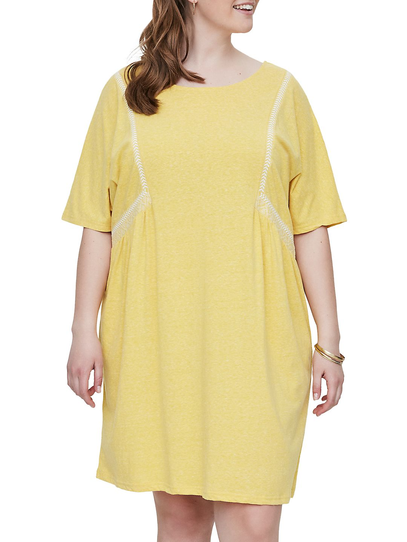 Plus Ives Short-Sleeve Shift Dress