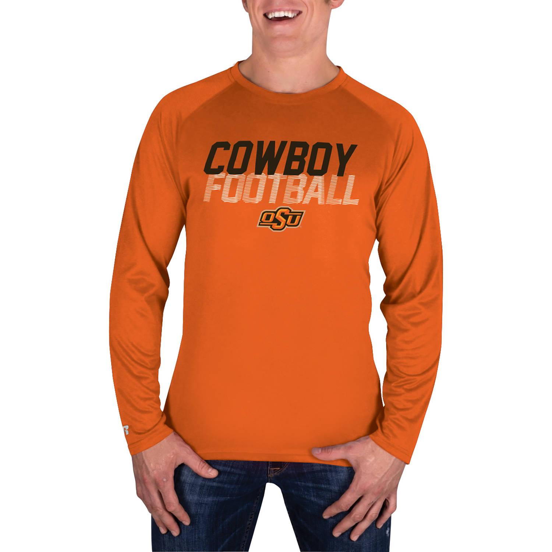 NCAA Oklahoma State Cowboys Men's Long Sleeve Impact T-Shirt