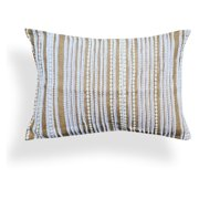 A1 Home Collections Judith Natural Brown Jute Lace Pillow