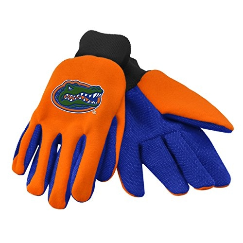 Florida Gators Official NCAA Work Glove Colored Palm Grip by 875279