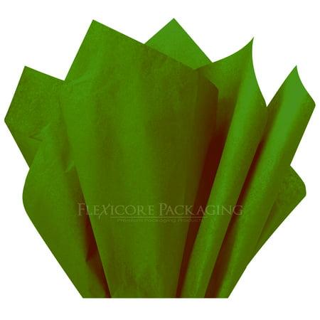 Moss Green Tissue Paper, 15