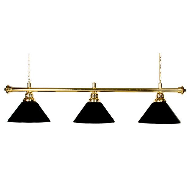 "61""  Pool Table Light Billiard lamp With Metal Black Shades For 7 or 8' Table"