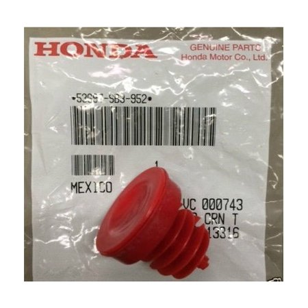 Honda 53697-SB3-952 Power Steering Oil Tank Cap Honda Accord Coupe Sedan Civic CR-V Crosstour Element Odyssey Pilot (2003 Honda Accord Steering Wheel Controls Not Working)
