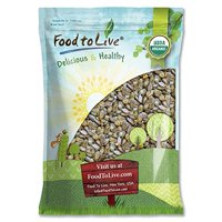 Organic Dry Roasted Pumpkin Seeds with Sea Salt, 12 Pounds — Non-GMO Kernels, Pepitas, Kosher, Vegan, No Shell, Healthy Snack, Bulk – by Food to Live