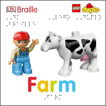 DK Braille: Lego Duplo: Farm (Board Book)