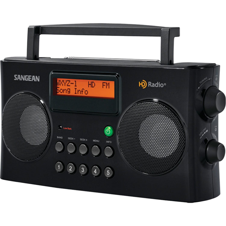 Sangean HDR-16 AM FM HD Portable Radio by Sangean