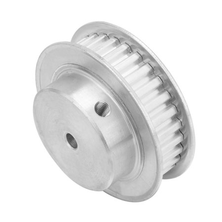 Aluminum XL 30 Teeth 5mm Bore Timing Idler Pulley Synchronous Wheel - image 3 of 6