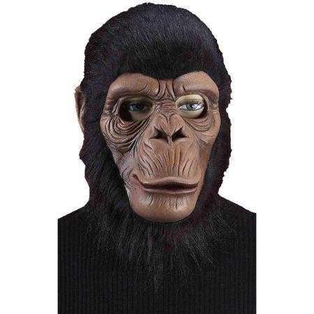 Chimpanzee Mask (Adult's Monkey Chimpanzee Chimp Party Full Mask Costume)