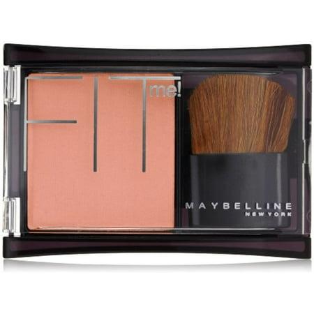 Maybelline New York, Fit Me! Fard à joues, Medium Coral 0,16 oz (pack de 2)