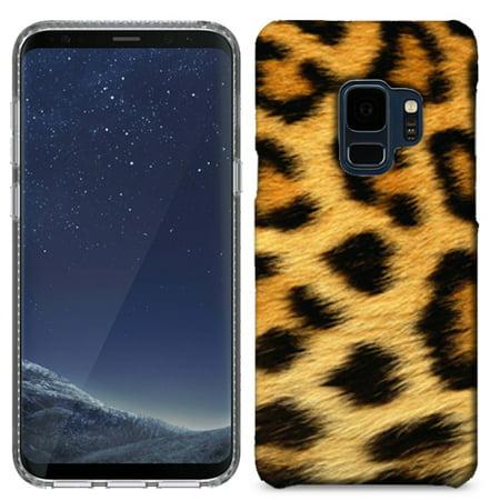 MUNDAZE Classic Leopard Case Cover For Samsung Galaxy S9