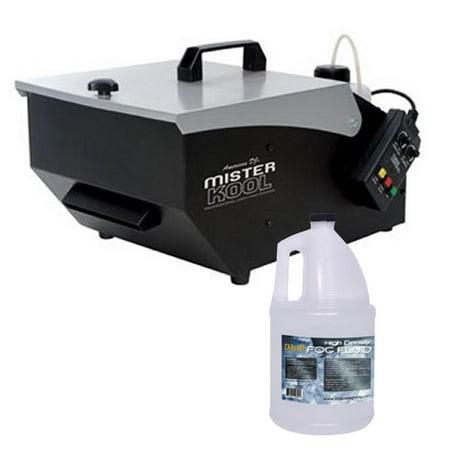 Dry Ice Halloween Effects (NEW American DJ MISTER KOOL Low Lying Dry Ice Effect Fog Machine w/HDF Fog)