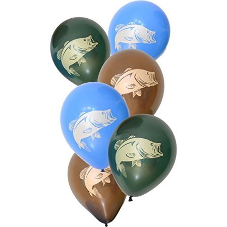fish party balloons (large, 12