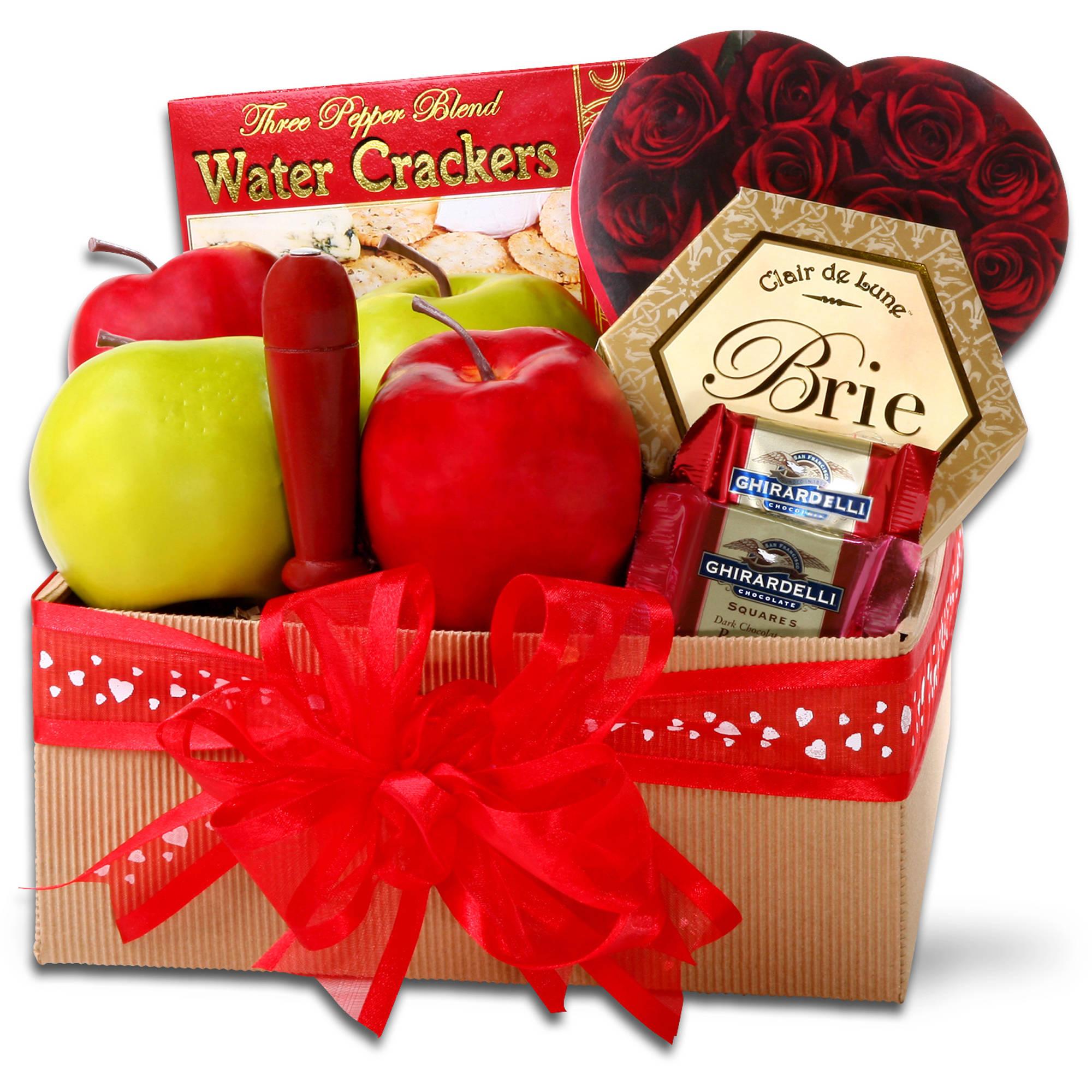 Alder Creek Valentine's Day Sweet & Savory Snacks Gift Set