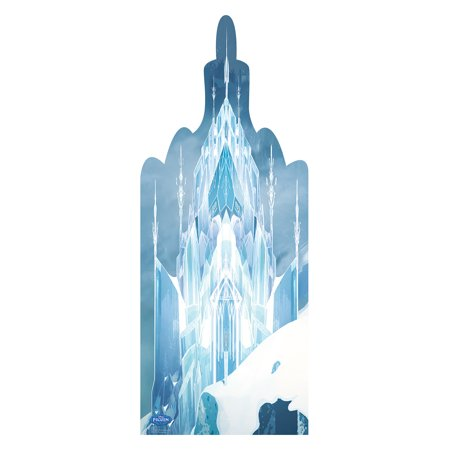 Movie Cutouts (Disney's Frozen Movie Ice Castle Standup Standee Cardboard Cutout Poster)