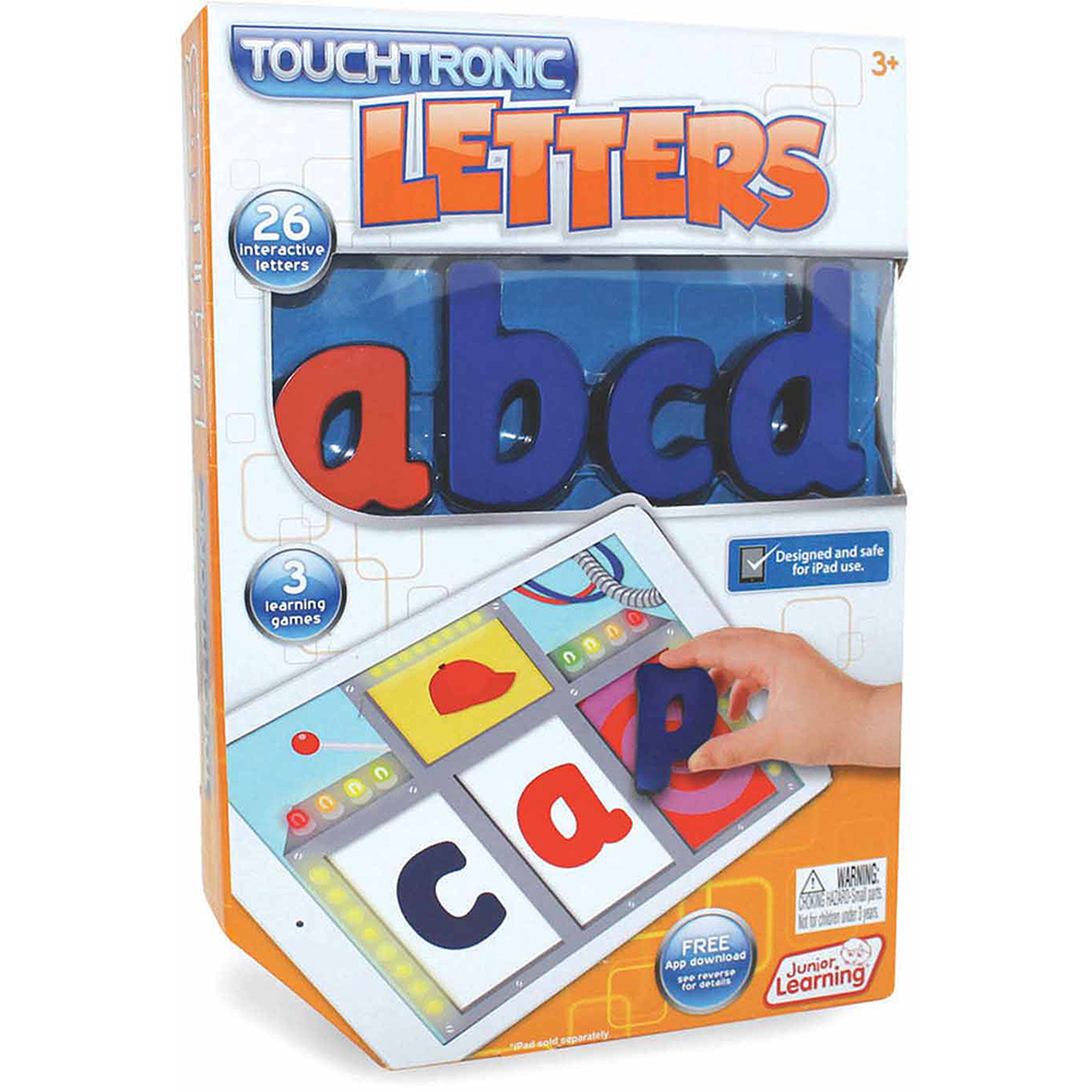 Junior Learning Touchtronic Letters, Award Winning Interactive Learning Toy for iPad