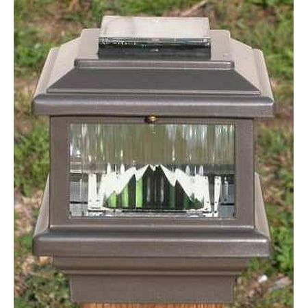 Aurora Deck - Aurora Polaris Solar LED Deck Post Light 4