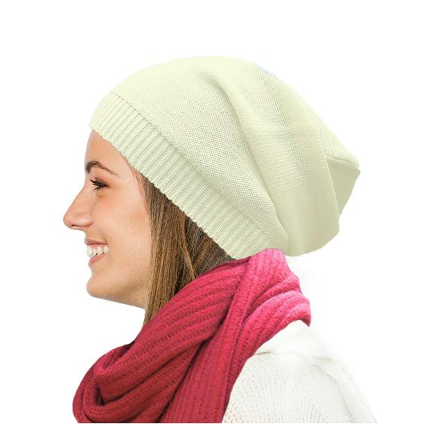 Merino wool beanie hat Wearable art Gray slouchy hat for women Knit hat Jersey womens hat