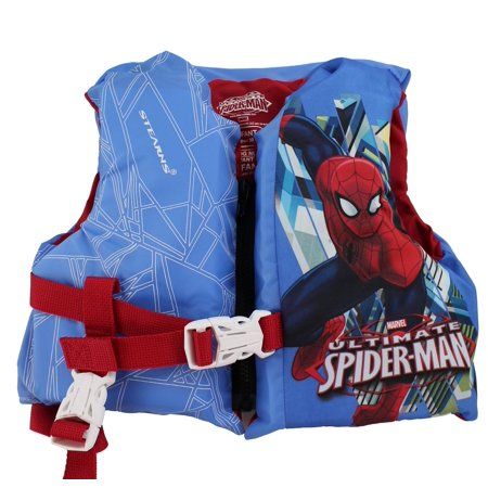 Coleman Stearns Spiderman Infant Pool Lake Life Jacket Vest with Rescue Handle