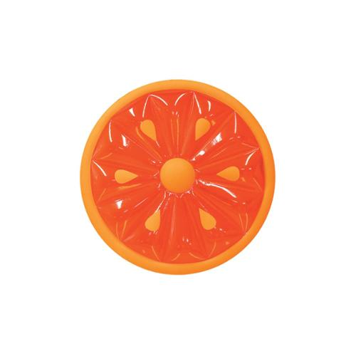 Water Sports Inflatable Orange Fruit Slice Swimming Pool Lounger Raft