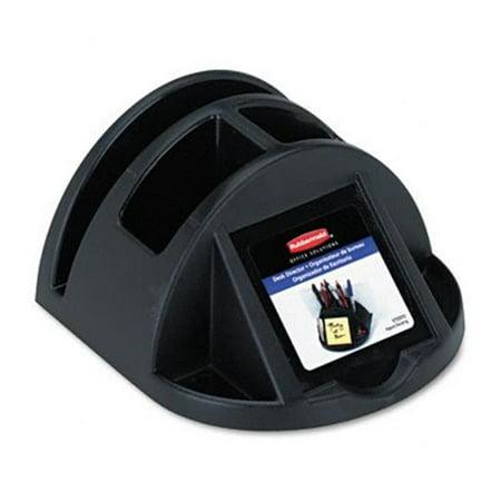Regeneration Desk Director  Plastic  5 1/4w x 5 7/8d x 5 1/8h  Black