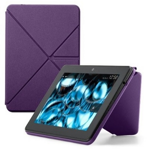 Amazon Origami Case for Kindle Fire HD, Purple