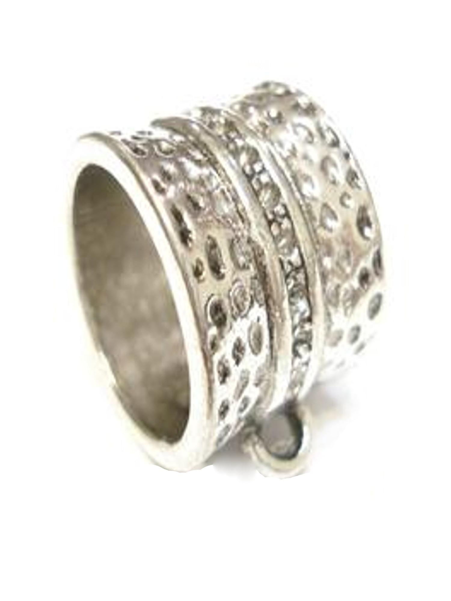 US SELLER-5 scarf pendant bail slide sets DIY jewelry pendant